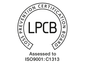 Gemini Fire ISO9001 Loss Prevention Accreditation logo